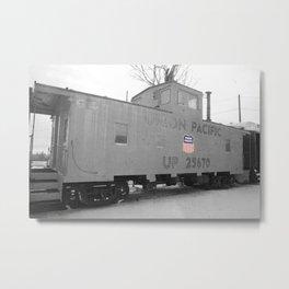 Union Pacific Cab Metal Print
