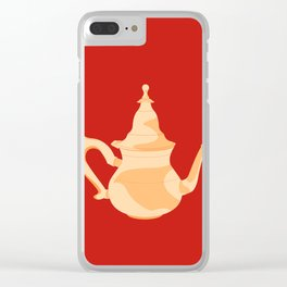 MADE IN MOROCCO #09-THE TEAPOT Clear iPhone Case