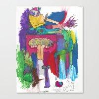 medicine Canvas Prints featuring Medicine by LightlyBased