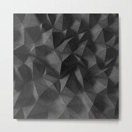 black rocks landscape Metal Print