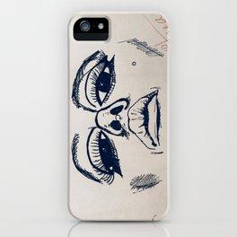 Edie close up iPhone Case