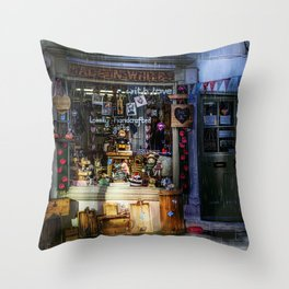 Made in Whitby Throw Pillow