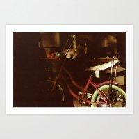Bicycle Photo Print Art Print
