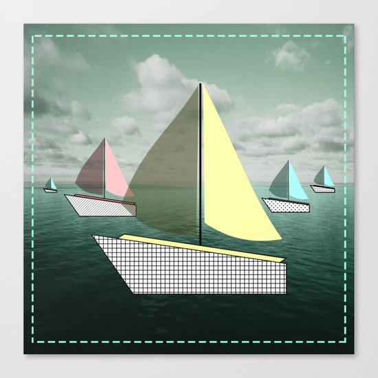 boat-full Canvas Print