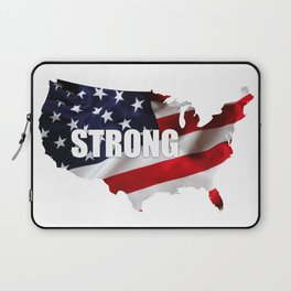 America Strong Laptop Sleeve
