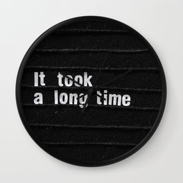 Fare Thee Well Wall Clock