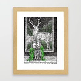 Daughters of the Forest Framed Art Print