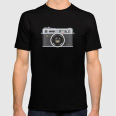 Yashica Electro 35 GSN Camera Black MEDIUM Mens Fitted Tee