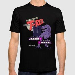 Terrifying T-Rex Retro Pinball T-shirt