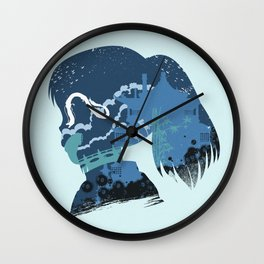 The Many Faces of Cinema: Spirited Away Wall Clock