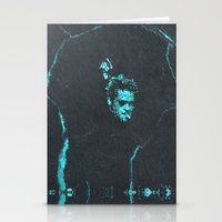 tyler durden Stationery Cards featuring Tyler Durden without the Narrator | Fight Club by Matt Crave