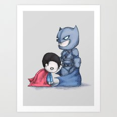 Bat Of Steel Art Print