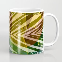 exotic palms abstract Coffee Mug