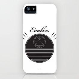 Evolve Geometrically  iPhone Case