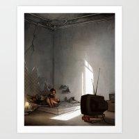 minimalists Art Print