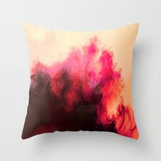 Painted Clouds II Throw Pillow