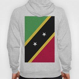 Saint Kitts and Nevis flag emblem Hoody