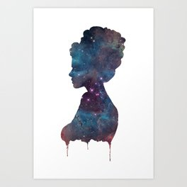 Femme Nebula Art Print