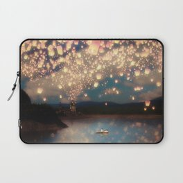 Love Wish Lanterns Laptop Sleeve
