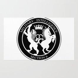 MI6 Logo Rug
