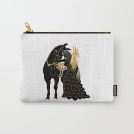 Angle & Horse Carry-All Pouch
