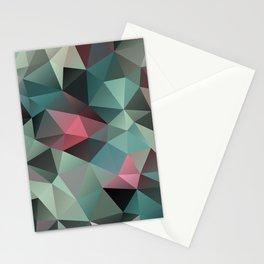 Polygon pattern 8 Stationery Cards