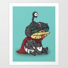 Zibbler Art Print