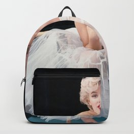 Ma-rilyn Monroe Ballerina Poster, Quality Print, American icon, actress, Vintage Art Photography, Home Décor, Wall Ar Backpack