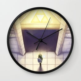 The Hero of Time Wall Clock