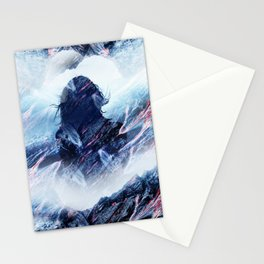 Magma Girl Stationery Cards