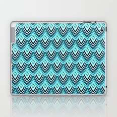 Dragon Scales From A Huge Blue & Green Dragon Laptop & iPad Skin