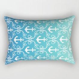 Nautical Knots Ombre Rectangular Pillow