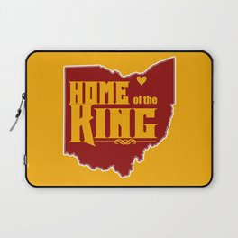 Home of the King (Yellow) Laptop Sleeve