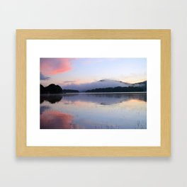 Tranquil Morning in the Adirondacks Framed Art Print