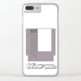 blow me Clear iPhone Case