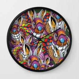 Steampunk Bunny Rabbit Wall Clock