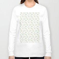 orange - subtle pattern Long Sleeve T-shirt