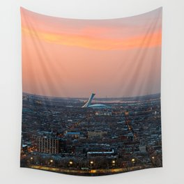 Montreal Twilight Wall Tapestry