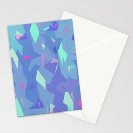ABSTRACTION BRIGHT Stationery Cards