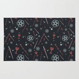Tarot Card Suits Rug