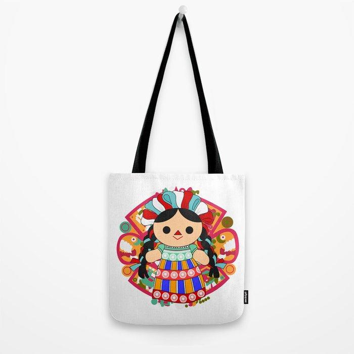 Maria 6 (Mexican Doll) Tote Bag