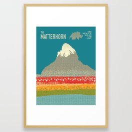 The Matterhorn Framed Art Print