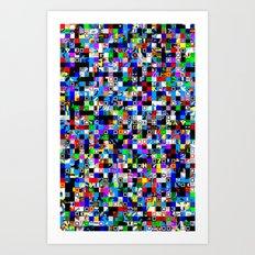 Pattern Test I-A Art Print
