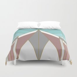 ART DECO G2 (abstract geometric) Duvet Cover