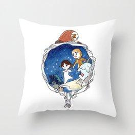 Ben & Saoirse Throw Pillow