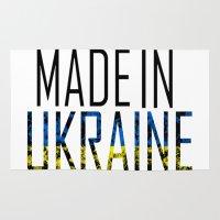 ukraine Area & Throw Rugs featuring Made In Ukraine by VirgoSpice