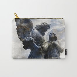 Cemetery Angles with Marble Sky Carry-All Pouch