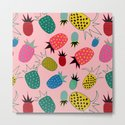 pineapple fun tropical pink by susycosta