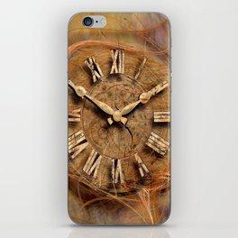 Tempus fugit ! iPhone Skin