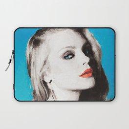 Blue Beauty Laptop Sleeve